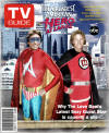 Greatest American Hero At Large TV Guide Cover DISTRESSED